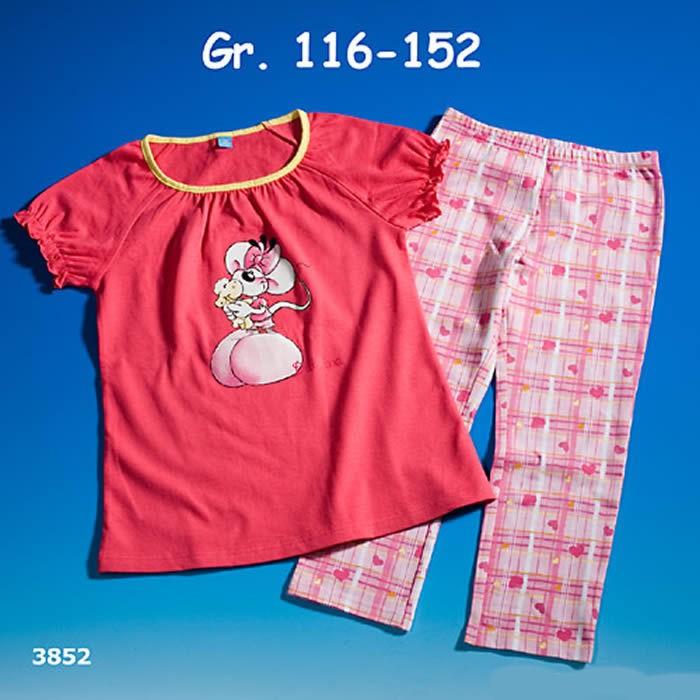 D - Pyjama Kurzarm