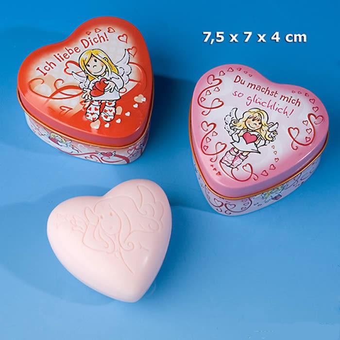 Schutzengel - Duft/Herz-Seife