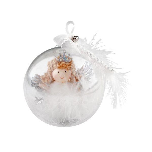 Schutzengel Weihnachtskugel