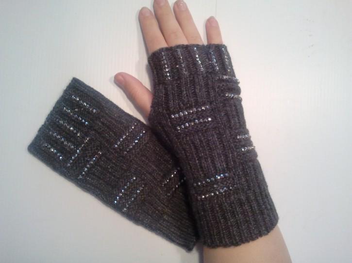D - Handstulpen Glitzer