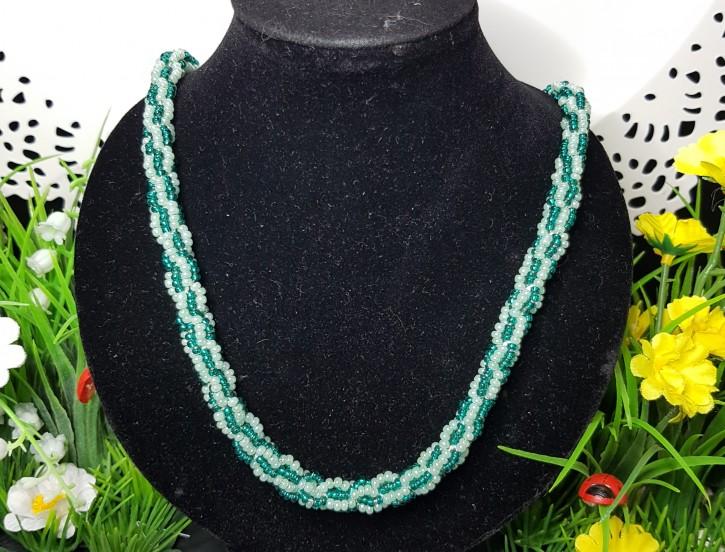 HM - Perlkette mint/grün