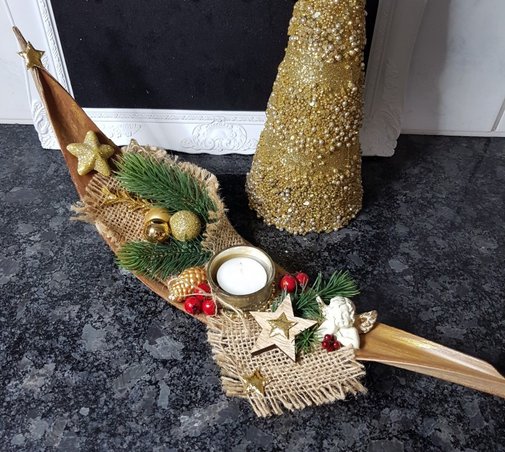 HMT - Teelicht Schale Kokos