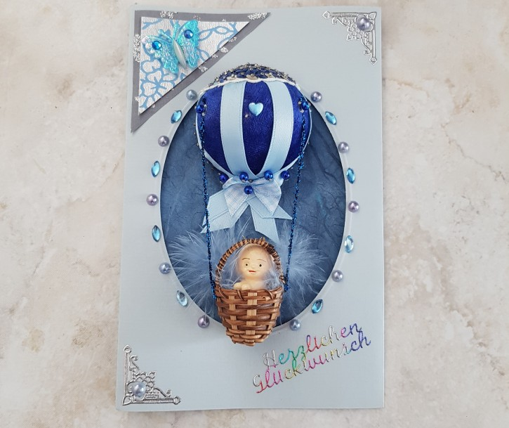 HMK - Karte Baby Ballon
