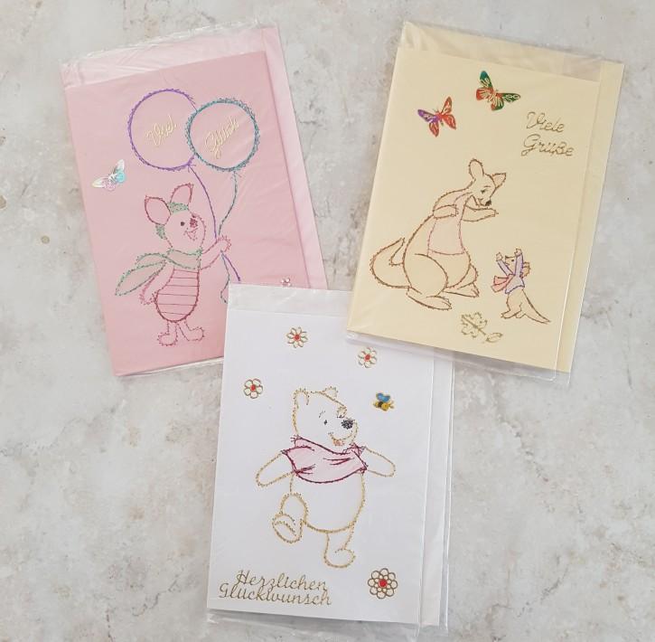 HMK - Karten Set Pooh