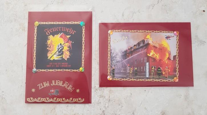 HMK - Karten Set Feuerwehr 1