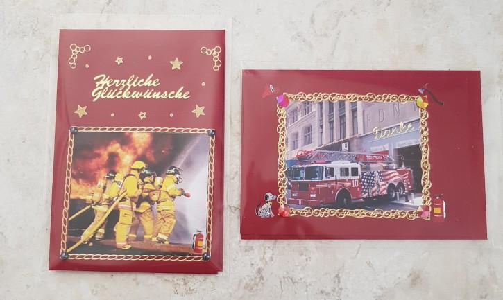 HMK - Karten Set Feuerwehr 3