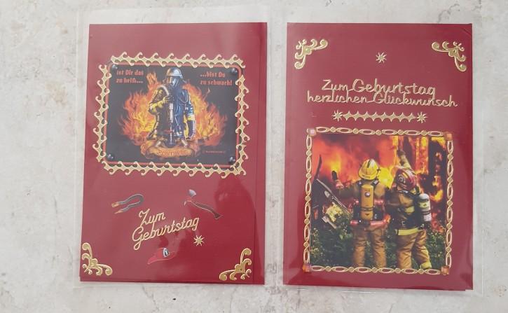 HMK - Karten Set Feuerwehr 4