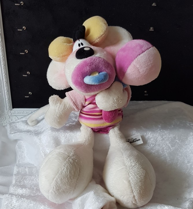 Diddl - Baby Plüsch rosa