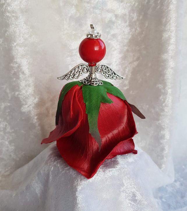 HM - Blütenengel Rose rot