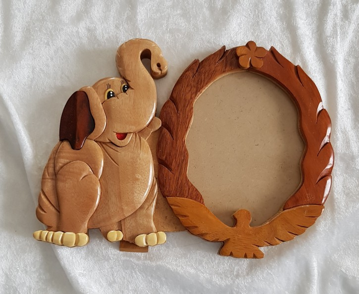 S - Bilderrahmen Elefant