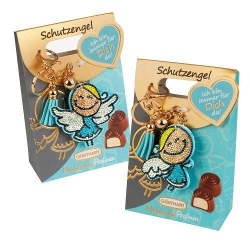 Schutzengel Strassanhänger / Pralinen