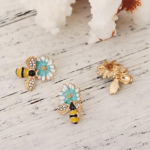 BA - Anhänger Biene auf Blume