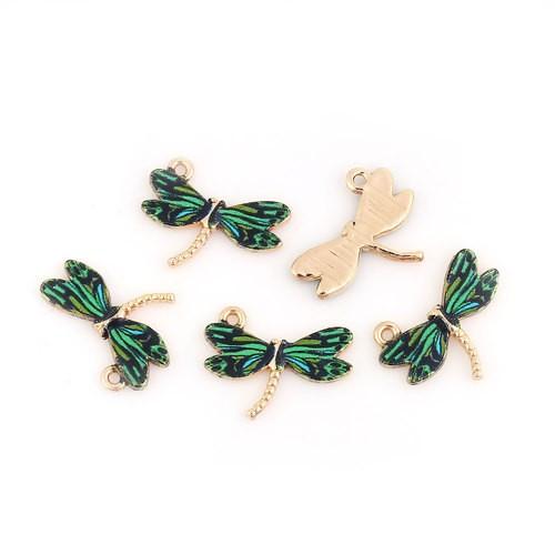BA - Anhänger Libelle grün