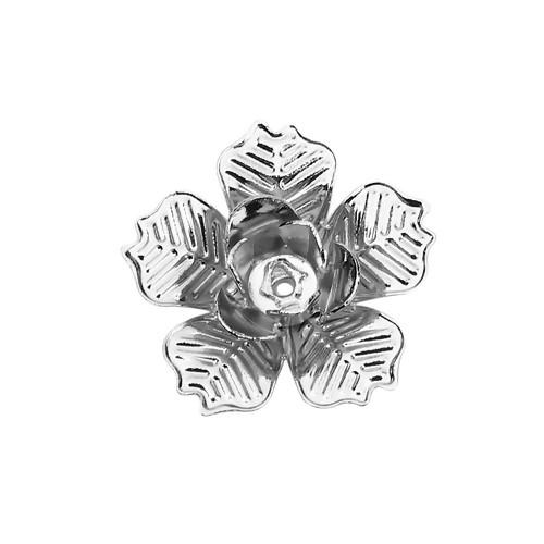 BP - Perlkappe Blume gr.