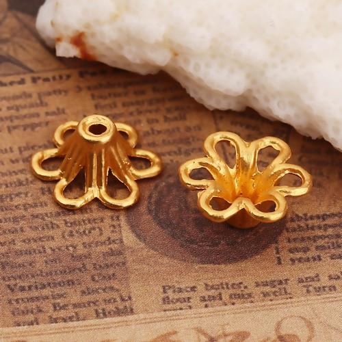 BP - Perlkappe zink gold
