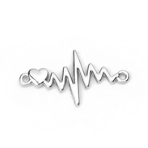 BV - Verbinder - EKG silber