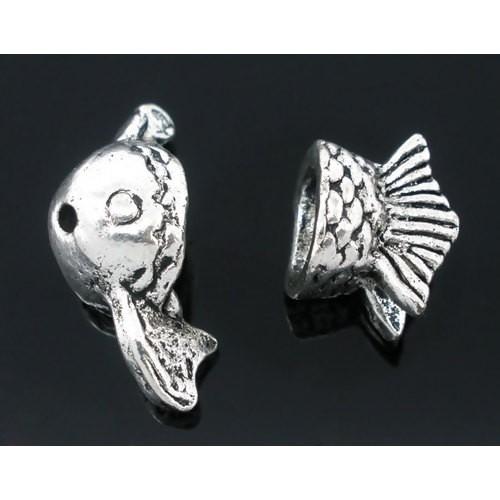 BP - Metallperlkappen Set Fisch