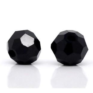 BP - Glasperlen schwarz faet.