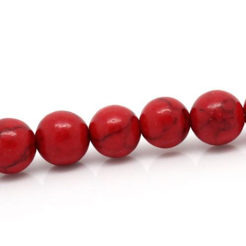 BP - Perlen rot How