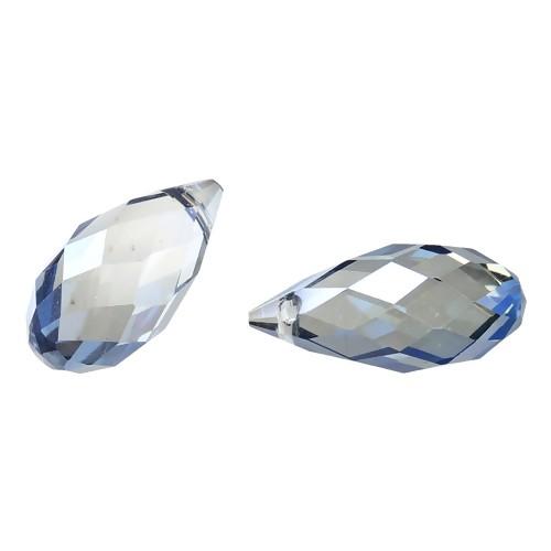 BP - Glasperle Tropfen blau