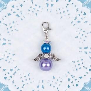 HMP - Perlenengel blau/lila