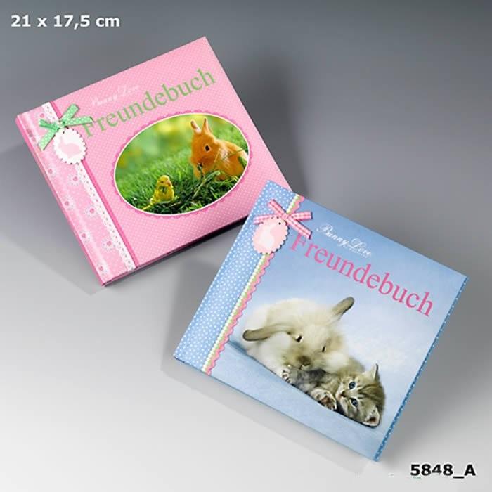AL - Freundebuch, rosa