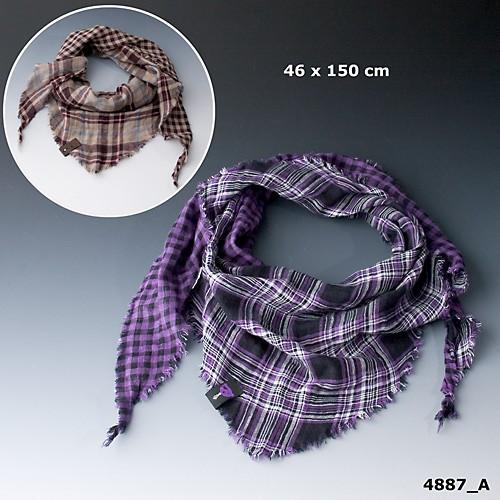 DD - Dreiecktuch, violet